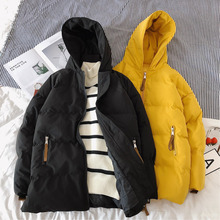 Winter Coat Men Warm Fashion Thick Parka Men Casual Solid Color Hooded Coat Man Streetwear Wild Loose Cotton Long Jacket Men winter coat men warm fashion thick parka men casual solid color hooded coat man streetwear wild loose cotton long jacket men