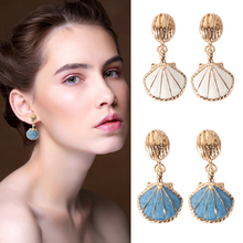 Brincos Vintage New Earing 2019 Aretes Preserving Electricity Restoring Ancient Shell Order Earrings Wholesale Direct Sale Spot tt56n12kof direct order