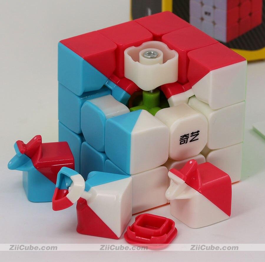 Quebra-cabeça de cubo mágico qiyi xmd warrior