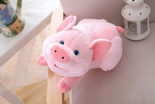 1pc 45cm Cute Cartoon Pig Plush Toy Stuffed Soft Animal Doll for Childrens Gift Kids Kawaii Girls