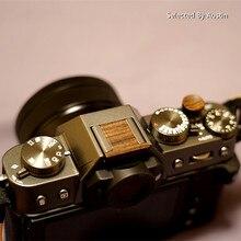 Botón disparador suave de madera para Fuji Fujifilm XT30 X T30