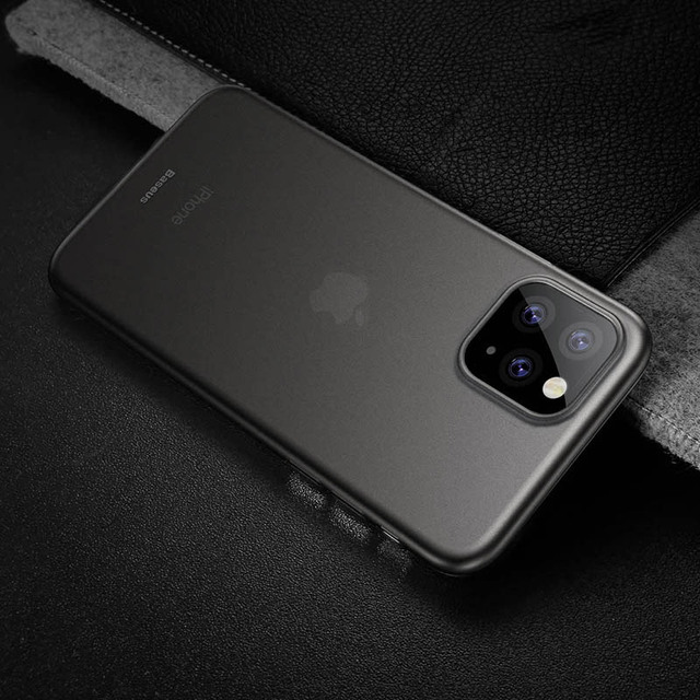 Baseus 0.4mm Super Thin Phone Case For iPhone 11 Case Coque 11 Pro Back Cover PP Coque Fundas for iPhone 11 Pro MAX Case Capa XS 5