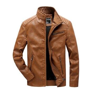 2019 Winter New Slim Fashion Biker Jacket