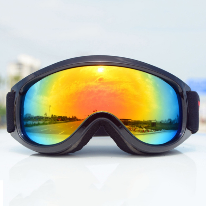 Professional Ski Goggles Anti-fog Big Ski Mask Glasses Windproof Skiing Eyewear  Adult Men Women Snow Snowboard Goggle