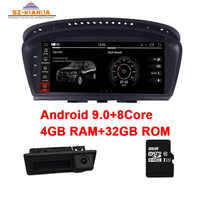 "Factory Price ID7 4GB+32GB 8.8"" Touch Screen Android 9.0 Car DVD player for BMW 5 Series E60 E61 E63 E64 E90 E91 E92 CCC CIC"