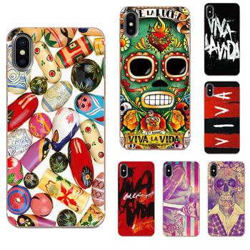 Supersonic Luxury Phone Case Viva La Vida For HTC Desire 530 626 628 630 816 820 830 One A9 M7 M8 M9 M10 E9 U11 U12 Life Plus image