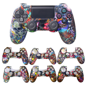 Image 2 - Data Frog Soft Silicone Gel Rubber Case Cover For SONY Playstation 4 PS4 Controller Protection Case For PS4 Pro Slim Gamepad