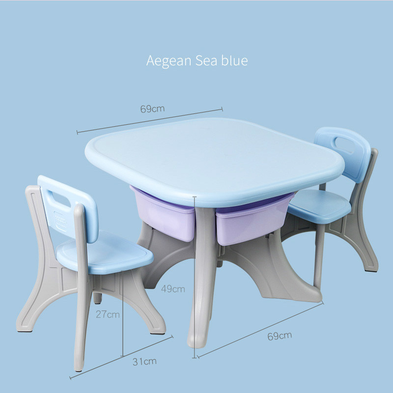 Kindergarten Table And Chair Baby Toy Game Table Children Write Painting Study Book Table Chair