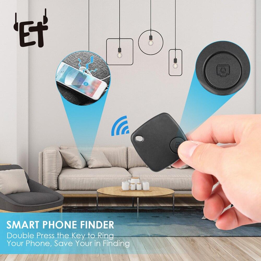 1/2/3pcs Multifunctional Smart Key Locator Finder Smart Tag Wireless Bluetooth Tracker Anti-lost Alarm Reminder Selfie Remoter