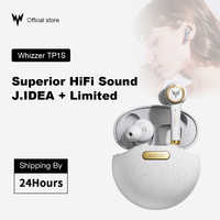 WHIZZER TP1S drahtlose Bluetooth kopfhörer 3D stereo drahtlose kopfhörer fone de ouvido kulaklık наушники dual mikrofon Weihnachten