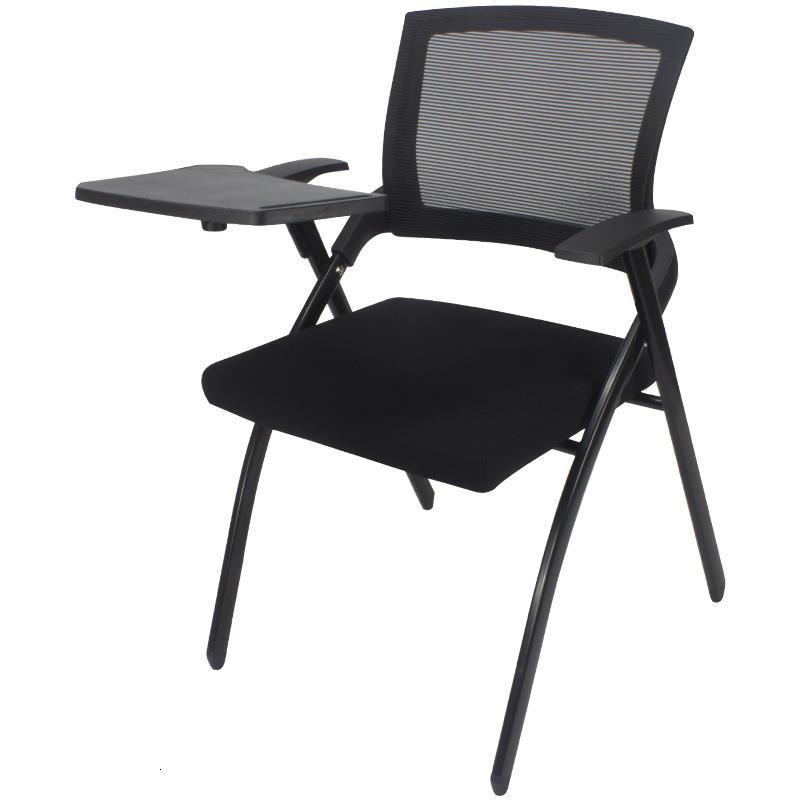 Para Airport Kursi Staf Conferencia Jefe Alta Calidad Pegable Metal Meeting Office De Silla Oficina Folding Chair With Board