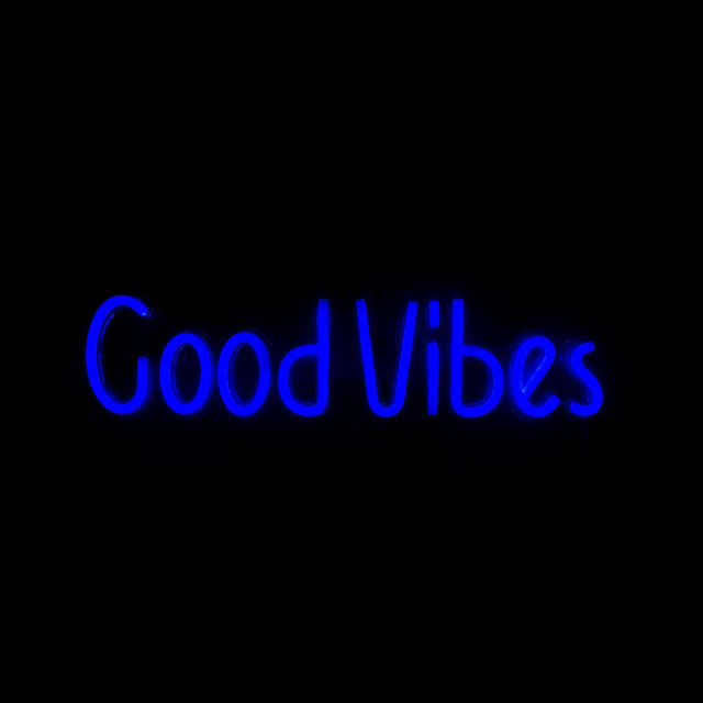 Good Vibes Neon Sign 10