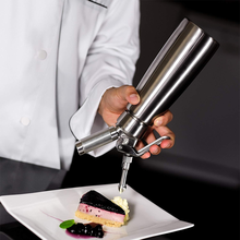 Professional Whipped Cream Dispenser  Stainless Steel Whipper for Delicious Homemade Leak-proof Large 500-1000ml Uses