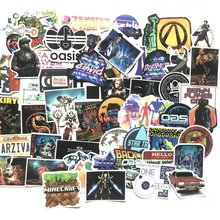 No.1 Player Sticker Game Hero Fornotebook Portable Skateboard Machine Cartoon kids gift stickers laptop