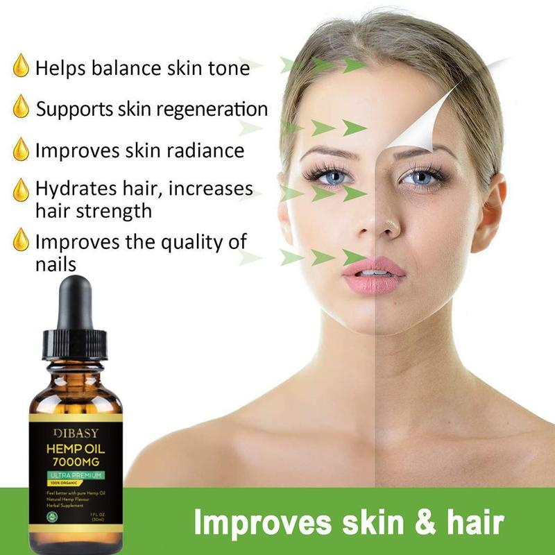 Essential Oils 7000mg CBD Oil Organic Hemp Seed Extract