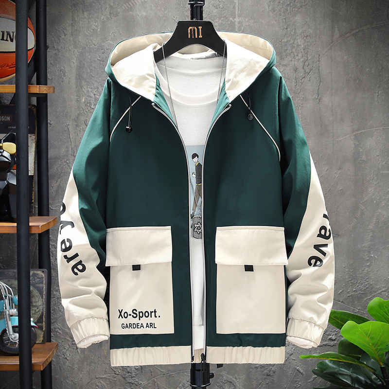Jacket Men New Spring Autumn 2020 Overalls Fashion Printed Men S Jacket Casual Slim Fit High Quality Outdoors Bomber Top Coat Onlinesouqa Com