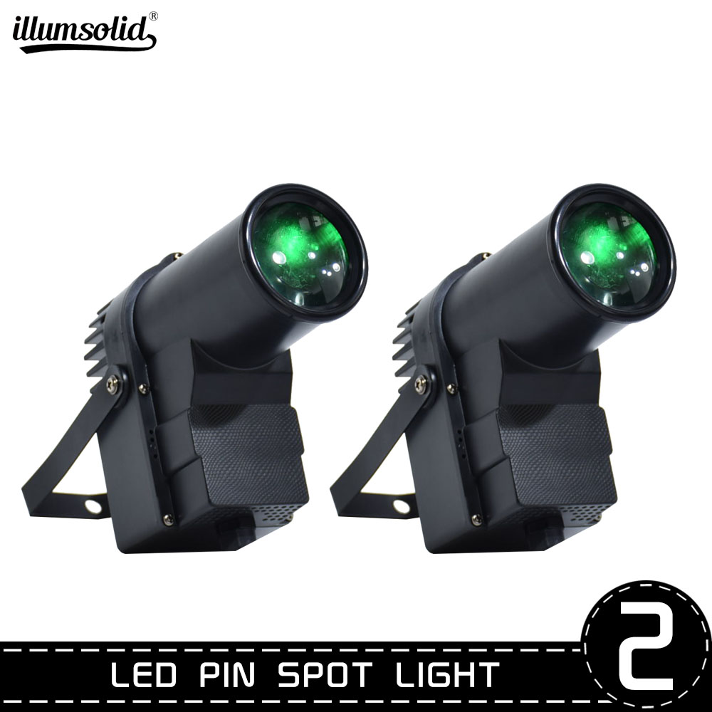 Spot Light Tight Beam Led DJ Mirror Ball Light Perfect For KTV Bar Club Party Effect Lighting Show 2pcs/lot