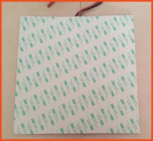 Gomma di-tampon chauffant en silicone | Tampon stampante 3d, riscaldatore, 220 v, 1000 w, 500*600MM, 3m, adhésif e100k thermistor, tapis