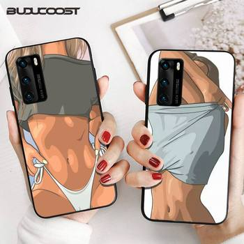 CUCI Sexy Hot Girl Summer Twerk It Swag Phone Case for huawei p30 lite pro p20 lite p10 p smart plus z 2019 2018 cover image