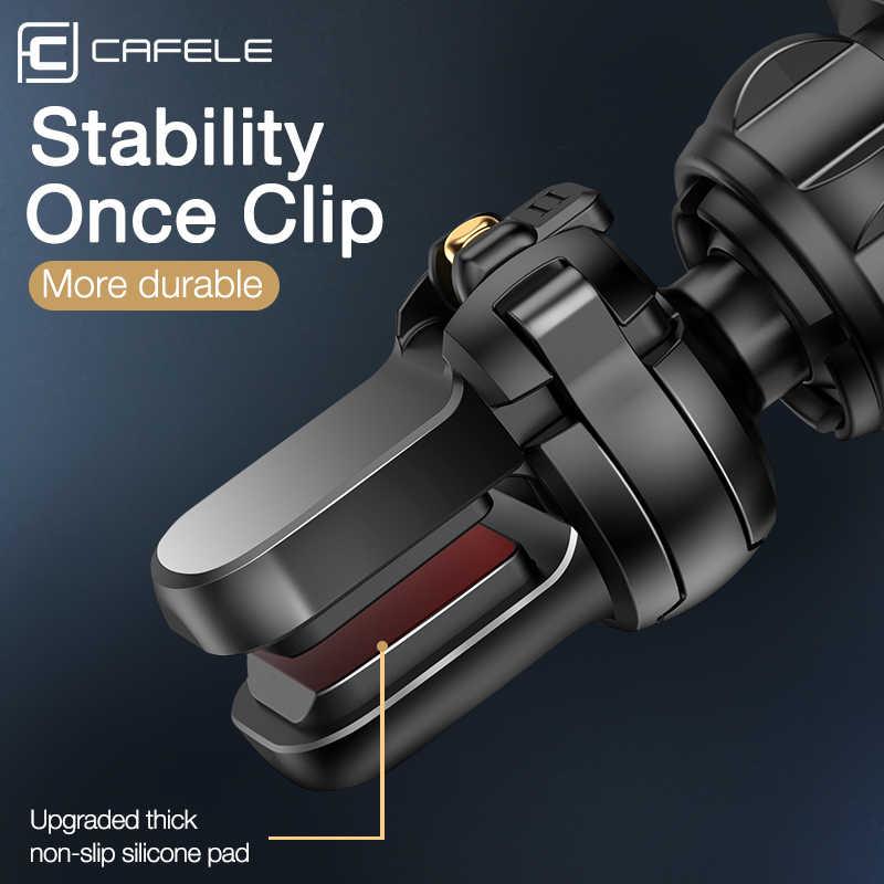 Cafele 럭셔리 무선 자동차 충전기, 자동차 무선 충전기에 전화에 대 한 지능형 적외선 무선 충전 자동차 전화 충전기