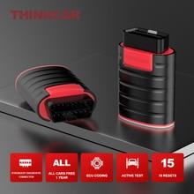 ThinkDiag 모든 자동차 무료 1 년 전체 시스템 진단 도구 15 재설정 동작 테스트 ECU 코딩 자동차 코드 리더 자동 스캐너