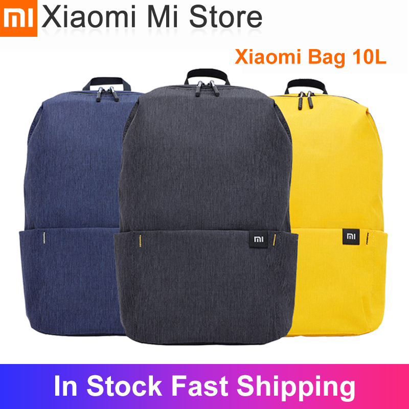 In stock Xiaomi 10L Backpack Bag Colorful Multi-scenario application Comfortable shoulders for Mens Women Child Backpack