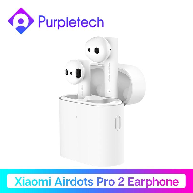 Original Xiaomi aire TWS auriculares Bluetooth 2 Airdots pro 2 Xiaomi inteligente de Control de voz LHDC HD sonido dinámico Tap Control ENC