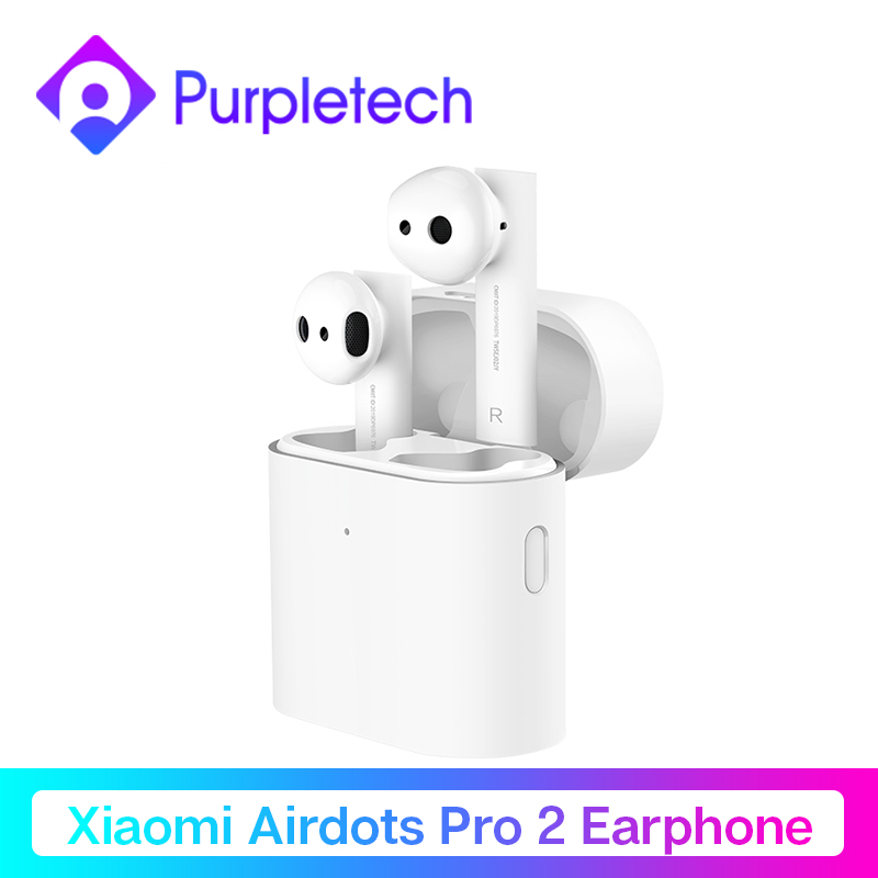 Оригинальный Xiaomi Air TWS Bluetooth гарнитура 2 Airdots pro 2 Xiaomi Smart Голосовое управление LHDC HD звук динамический кран управление ENC|Наушники и гарнитуры|   | АлиЭкспресс
