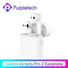 Оригинальный Xiaomi Air TWS Bluetooth гарнитура 2 Airdots pro 2 Xiaomi Smart Голосовое управление LHDC HD звук динамический кран управление ENC
