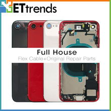 100% Test Full Back Housing  Assembly For iPhone X XS 11 12 Back Housing With Flex Cable Dropshiping&Wholesale