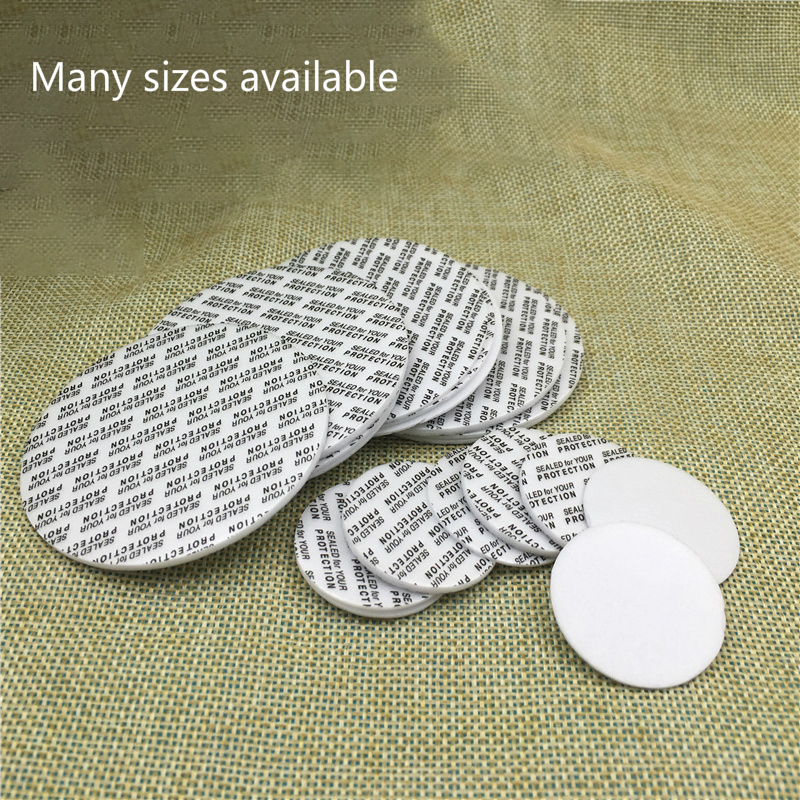 300pcs Self Sealing Sticker Gasket For Bottle Mouth Cosmetic Jar Self Adhesive Leak Proof Stick Seal Free Shipping