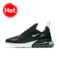 Original Authentic Nike Air Max 270 Men's Running Shoes Outdoor Sport Breathable Shock Absorbing Sneakers AH8050 002