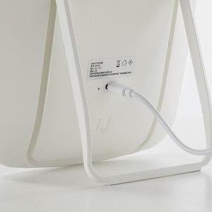 Image 2 - Youpin ジョーダン & ジュディ mijia ミラースマートメイク化粧鏡ポータブル折りたたみライトデスクトップテーブルはミラー