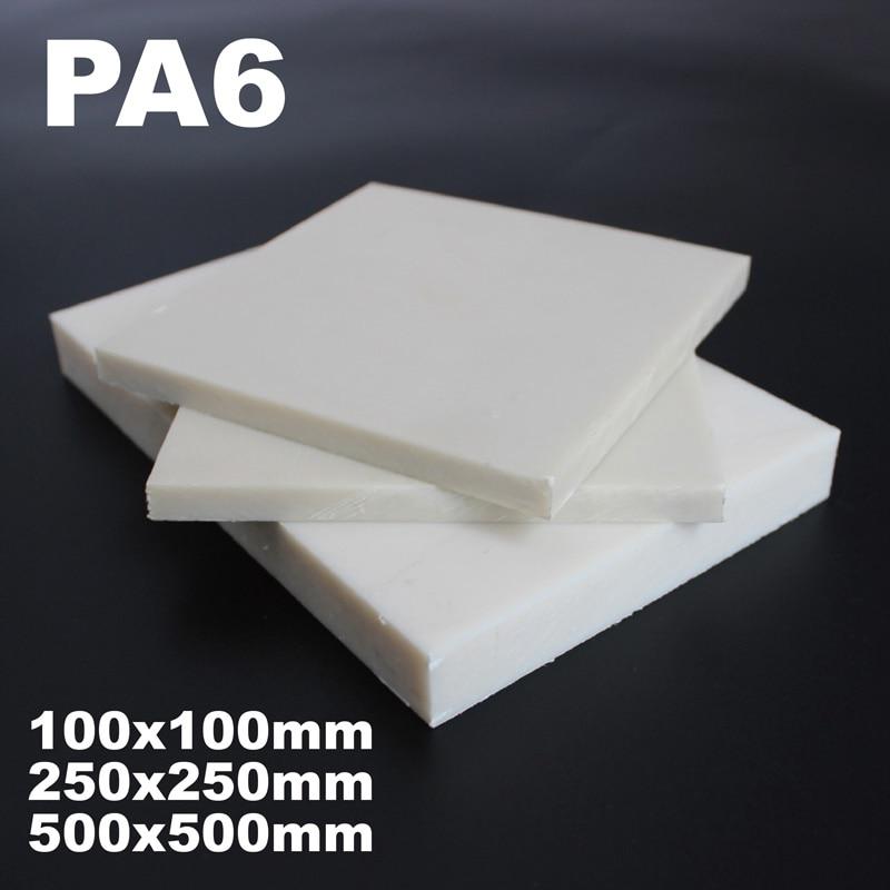 PA6 White Nylon Sheet Engineering Machining Block Plate