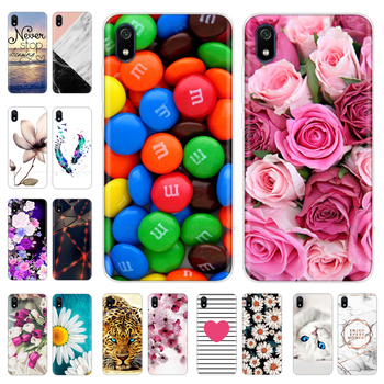 Redmi 7A Soft Silicone Phone Case For Xiaomi Redmi 7 7A Case On For Xiomi Redmi 7A Cover Cute TPU Back Cover For Redmi7A Coque xiaomi redmi s2 case cover transparent ultra thin soft silicone silm plating edge tpu back cover for xiaomi redmis2 phone coque