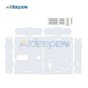 Image 3 - Boîtier en acrylique transparent pour Transistor et testeur de capacité LCR T4 M328 ESR Mega328 Kit de bricolage (boîtier uniquement)