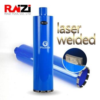 Raizi Diamond Core Drill Bit Hole Saw For Concrete Wall Tap Water Heater Air Condition 1-1/4 20-120 mm Welded Concrete Drill bit