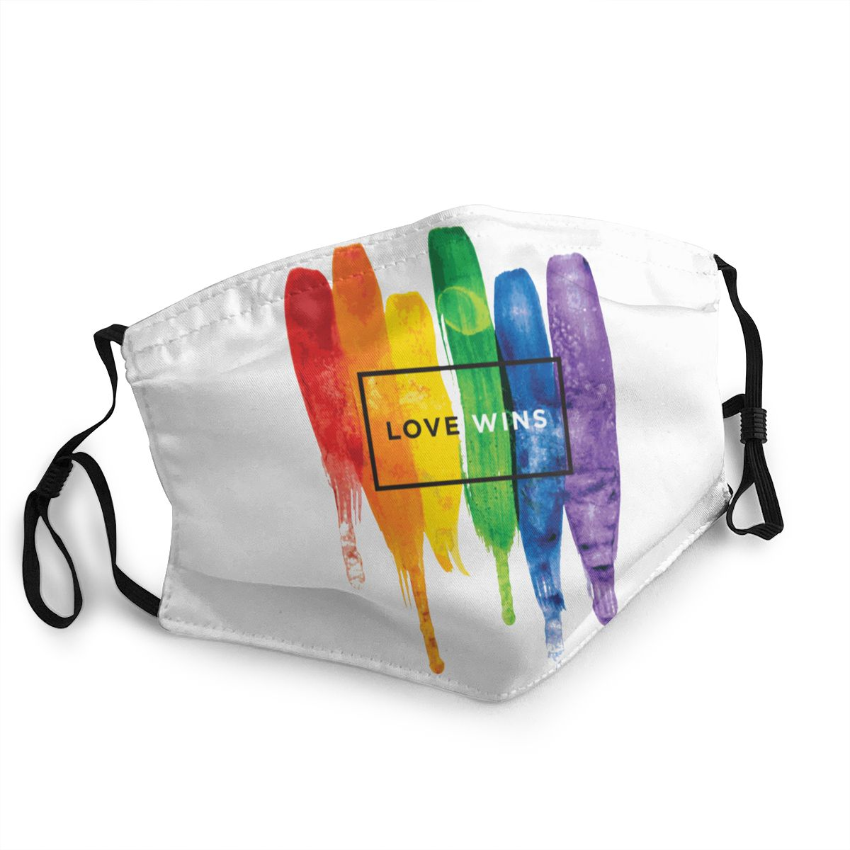 LGBT Rainbow Reusable Face Mask Gay Pride Anti Haze Dust Mask Protection Cover Respirator Mouth Muffle