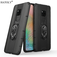 For Huawei Mate 20 Case Protective Finger Ring Silicone PC Armor Hard Back Phone
