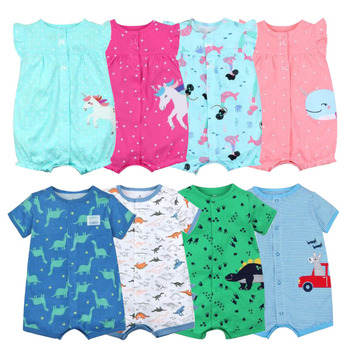 baby girl clothes romper summer cotton short sleeve Jumpsuit Kids Baby Outfits Clothes overalls for newborns