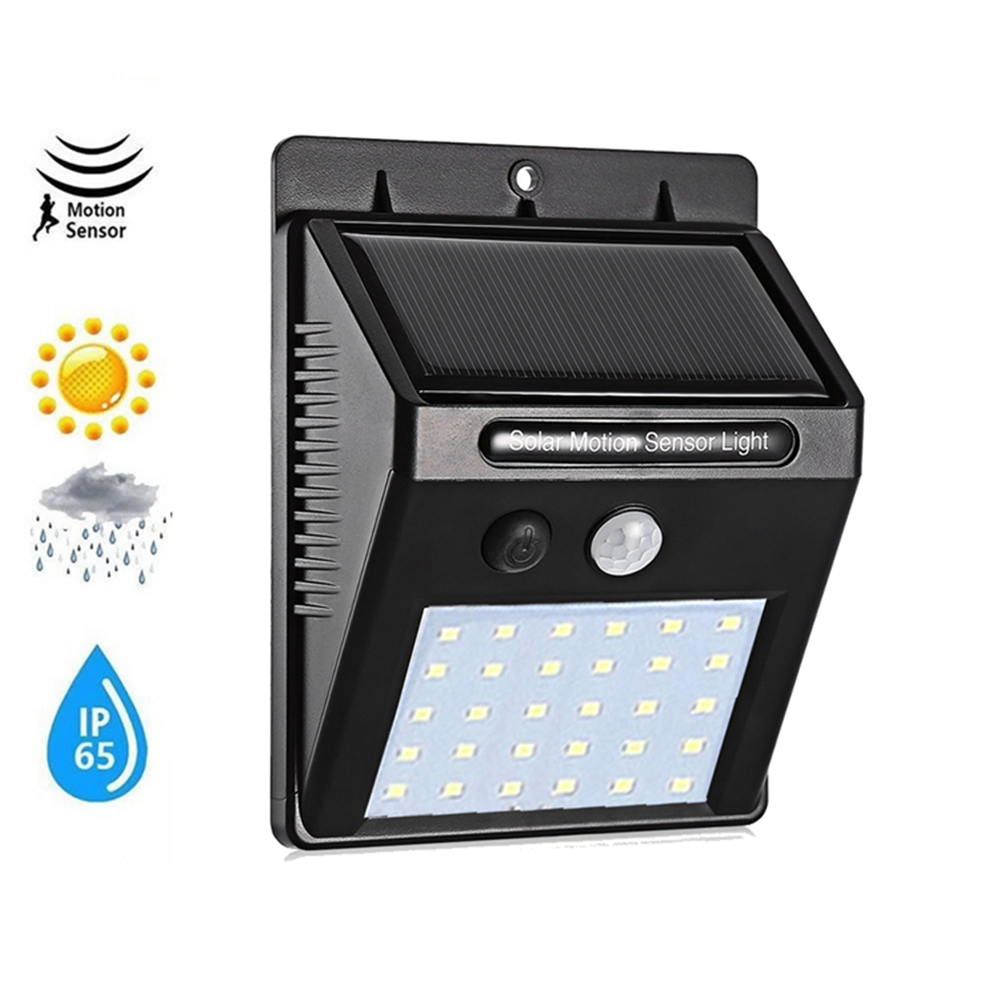 1-4Pcs LED Solar Light Outdoor Lighting Of Garden Security Lamp Spotlights Waterproof Street Wall Light Solar Panels With Motion