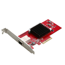 PCI-Express x4 to single port 10G 5G 2 5G 1000M RJ45 Lan Adapter Ethernet gigabit nic network card 10000M AQUANTIA AQC107 Chip cheap JEYI PCI Express