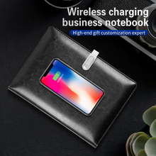 Smart Notebook Power-Bank with Wireless Paper And U-Disk Tablet Office-Offline-Storage