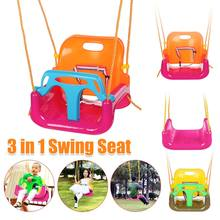 Outdoors Kids Playground Toddler Swing Seat Detachable Toddlers for Children Tree Swing Rope Seat Kit Heavy duty Wires