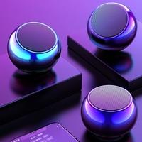 Niye-altavoz inalámbrico por Bluetooth, Mini altavoz de graves portátil, estéreo envolvente para ordenador, manos libres para el hogar y el exterior