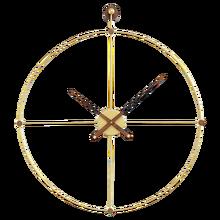Испания креативная декорация настенные часы металла Гостиная