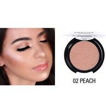 1 pçs brilhante blush suave maquiagem rosto contorno rosa laranja blush s55