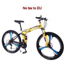 24 zoll mountainbike fahrrad 21/24/27/30 geschwindigkeit klapp MTB erwachsene outdoor sport High carbon stahl rahmen disc bremse fahrräder