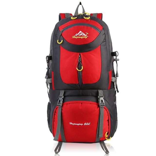 60l Camping Hiking Travel Riding Waterproof Hiking Backpacks 12