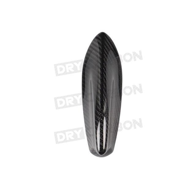 Para Toyota GT86 FT86 ZN6 para Subaru BRZ 2014-2019 aleta de techo de coche Shark antena fibra de carbono embellecedor cubierta pegatina